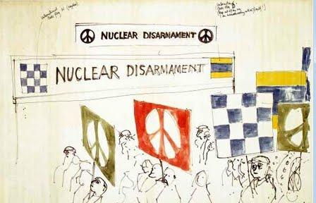 The History Of The Peace Symbol By Whitney Cabble Looking Back