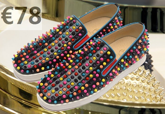 basket louboutin strass homme
