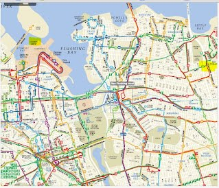 Queens Bus And NYC Subway Routes Louise Jiang - Queens bus map