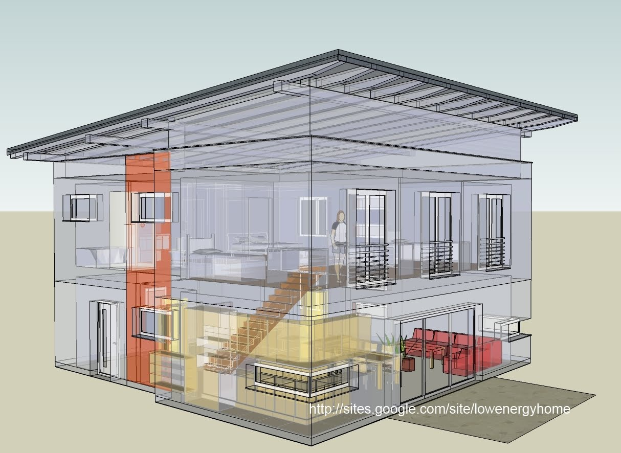 Example Of A Cube Shaped Passive House