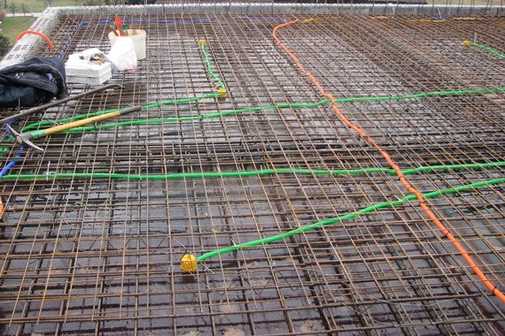 The Attic Concrete Slab PH And VIDEO Concreting The Slab