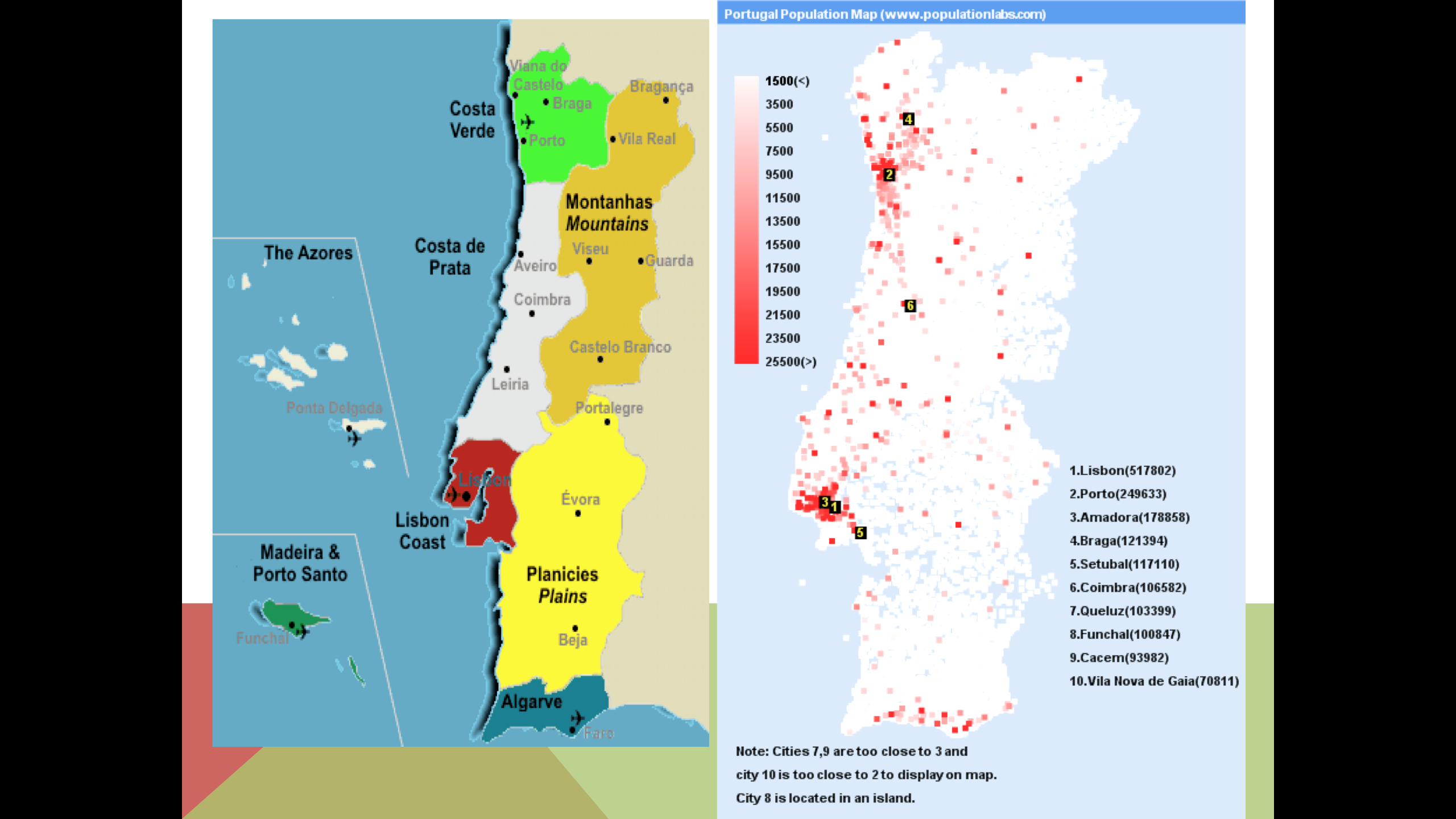 Picture of: Geography Of Portugal Luis Meza S Website