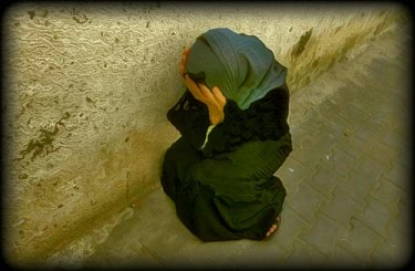 Palestine Suffering Woman