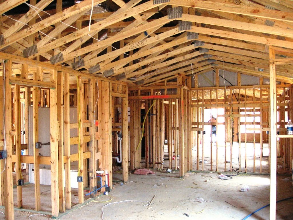 Lumber jack carpentry for House contractor