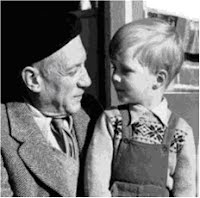 Picasso and young Antony Penrose