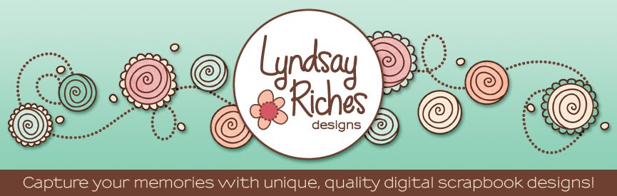 Lyndsay Riches Digital Scrapbook Designs