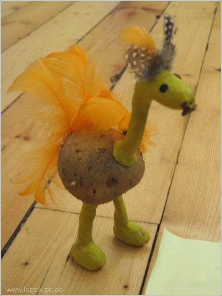 اشكال حيوانات من البطاطس البطاطس لها استخدامات اخرى اعمال فنية