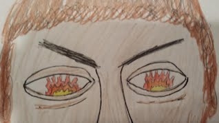 snapshots of the iliad the iliad in this quote agamemnon is described by homer during his argument achilles in book 1 i drew this picture to go the quote because it shows fire
