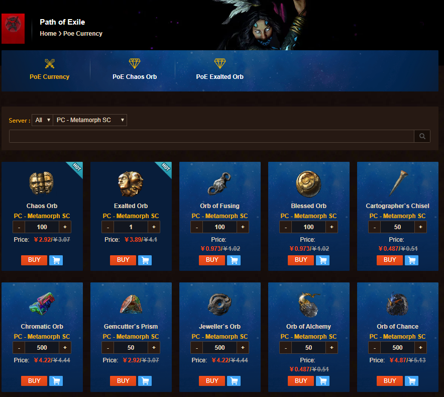 Buy Poe Currency From Vendors Is Safe Game Information