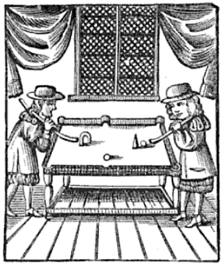 Table Billiards - 1674