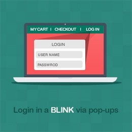 Magento quick Login extension by Magestore