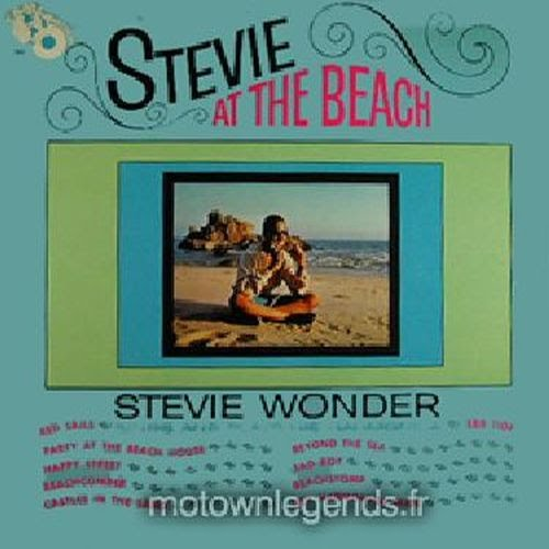 Stevie Wonder At The Beach