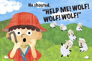 Image result for boy cry wolf
