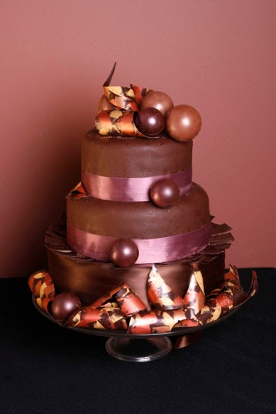 Chocolate Balls Cake Decoration : chocolate-cascadingballweddingcake - maisiemakes