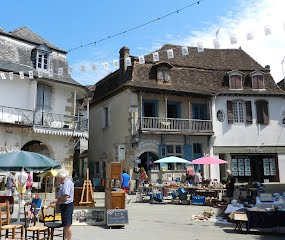 Antiques and brocante at a local vide grenier