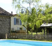 Le Grenier French house with heated pool
