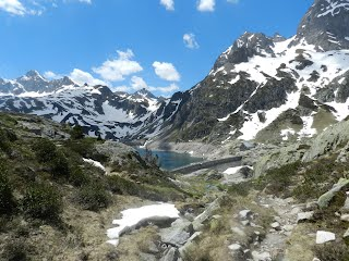 Lac d'Artouste in Pyrenees