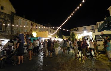French summer night markets