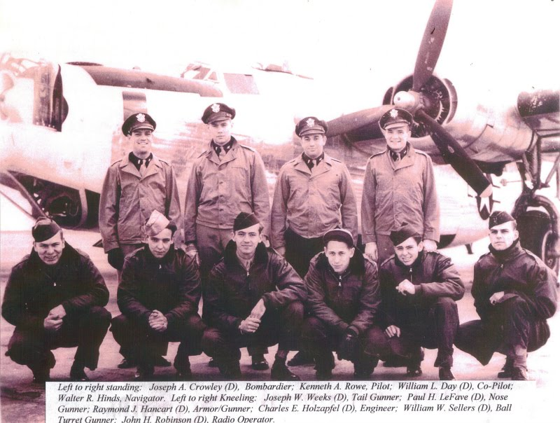 Major Kenneth Rowe - 491st Bomber Group - 8th Air Force
