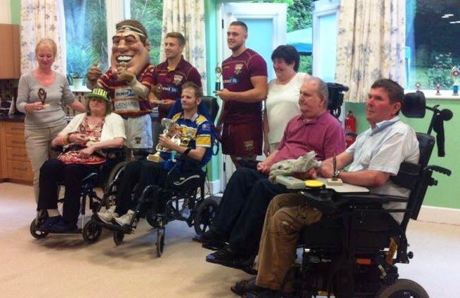 Awards Ceremony with Huddersfield Giants