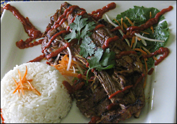 Thai Food Ribs