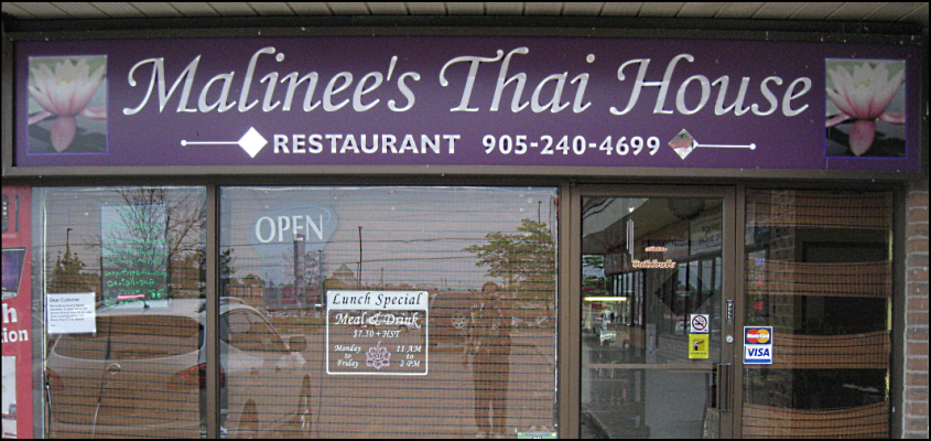 Malinee's Thai Food Restuarant