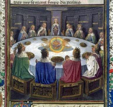 The origins of the round table king arthur and excalibur for 12 knights of the round table of king arthur
