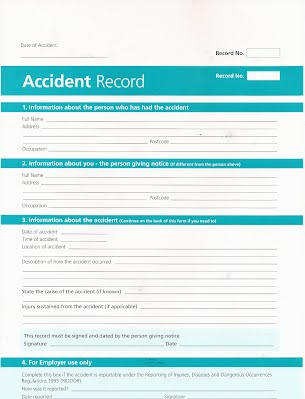 Accident Reporting - Man Tri Coaching