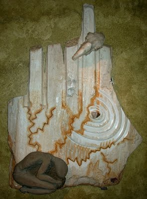 Fate 2005 surreal marble sculpture