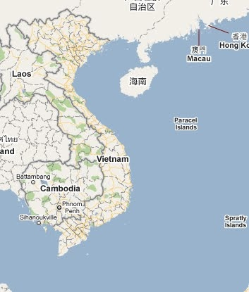 Amazing Google Map Vietnam Pictures - Printable Map - New ...