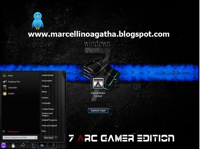 Windows 7 ARC Gamer Edition 32bit Genuine Windows 7 Full Version