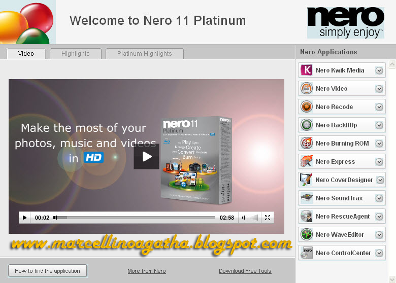 Serial Number Nero 11 Platinum