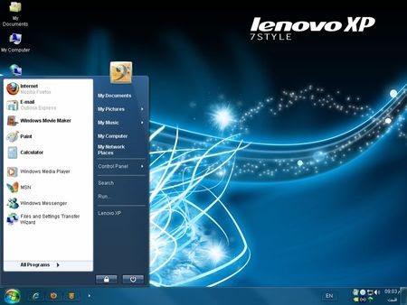 Windows Lenovo XP