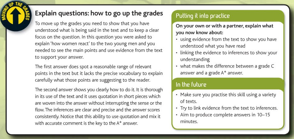 The Student Room Questions On English Literature Gcse