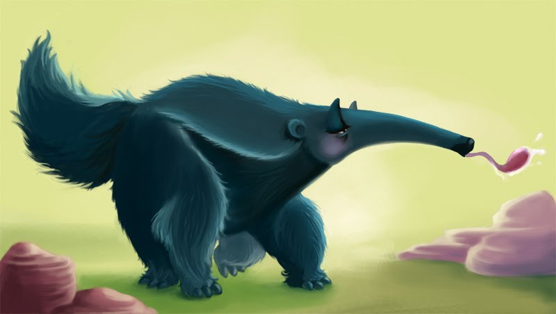 Stylized Animal Challenge - Apr 2007 - Anteater - VOTING!!