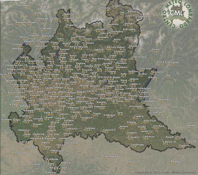 Cartina Dati Lombardia.Previsione Meteo Per Sampe Mariolu57