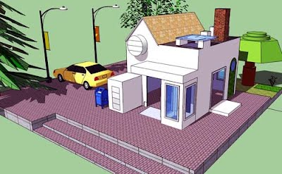 Sketchup mr markowich for Dream house website