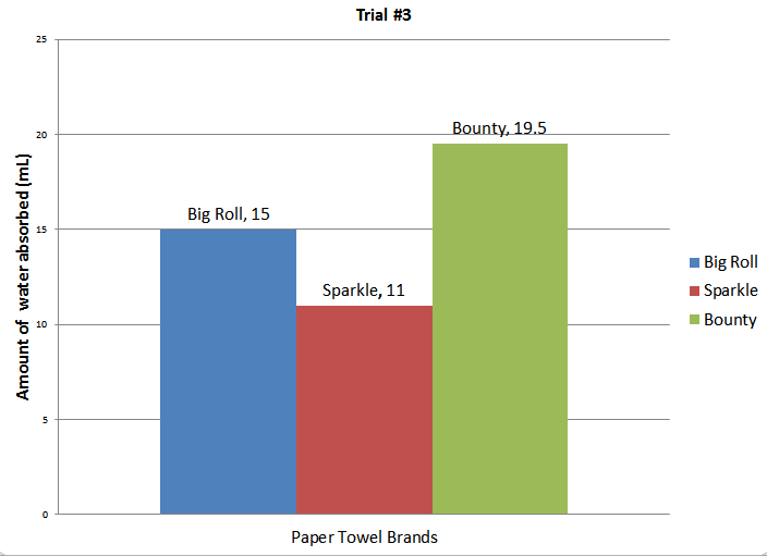 Paper Towel Experiment - SRM Lab Report Portfolio