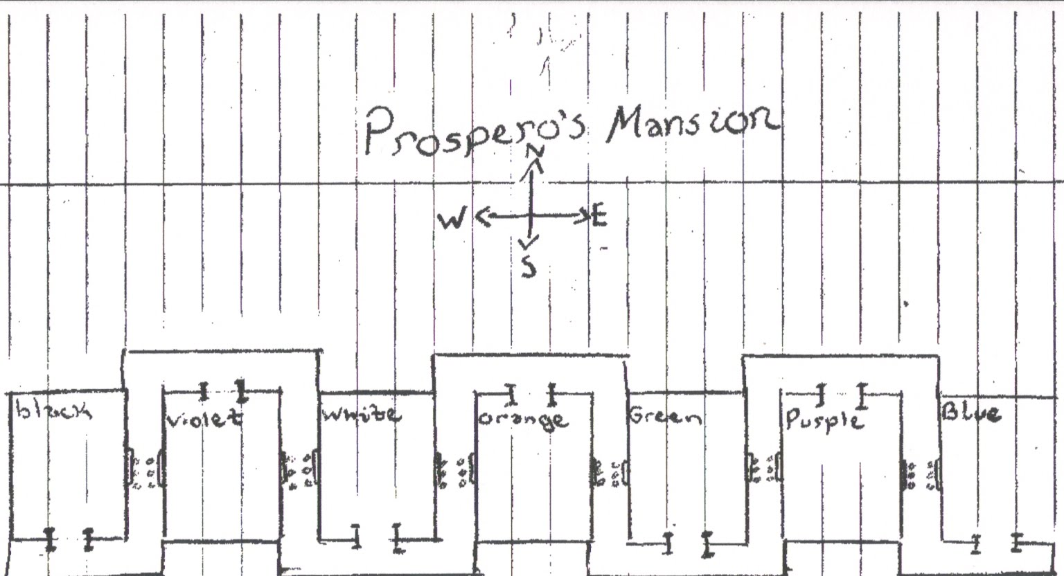 Masque Of The Red Death Room Map
