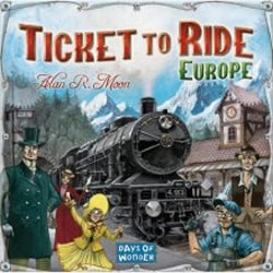 Board games - Ticket to Ride