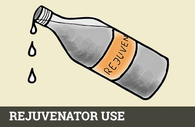 Rejuvenator use