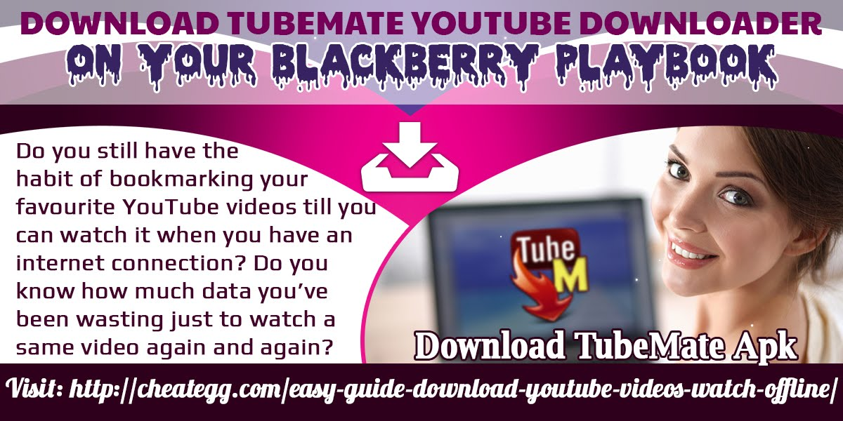 Tubemate on blackberry z10 app | download and save any video from.