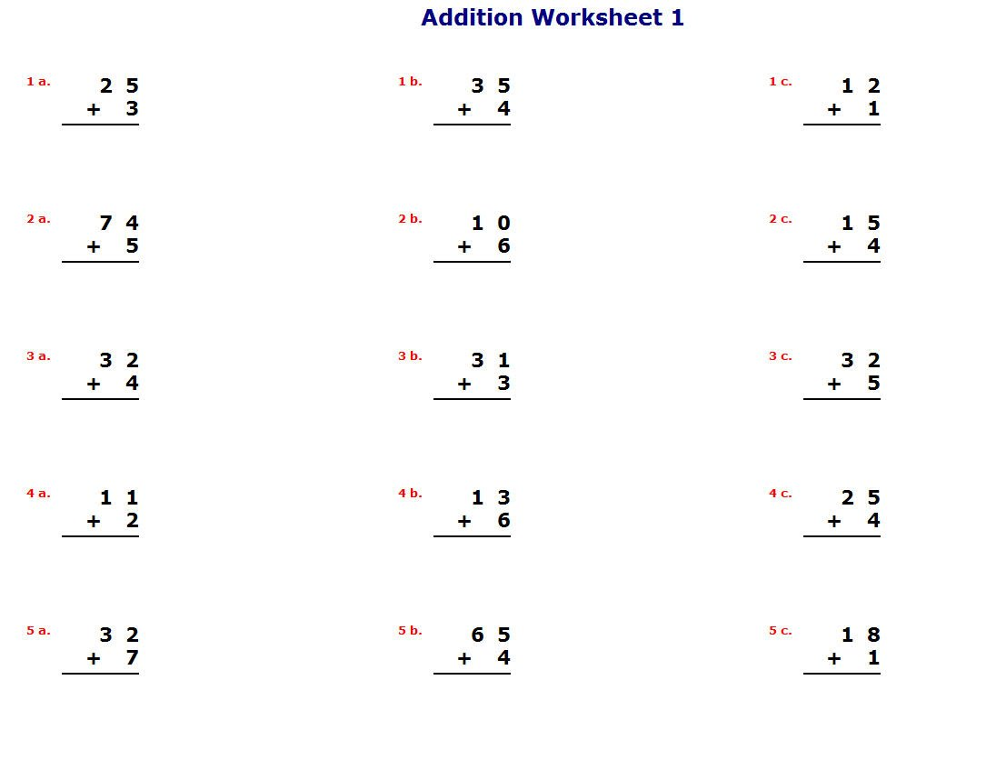 K5 Math Teaching Resources Lawteched – K12 Worksheets Math