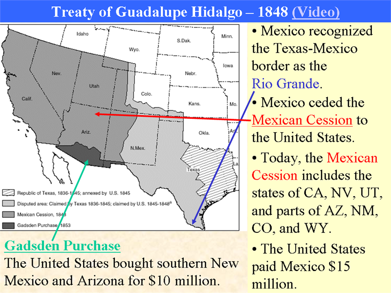 Mexican-American War and Mexican Cession - May62016