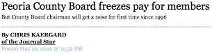 Pay Freeze Headline