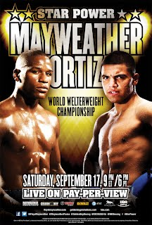 Mayweather Ortiz Fight video