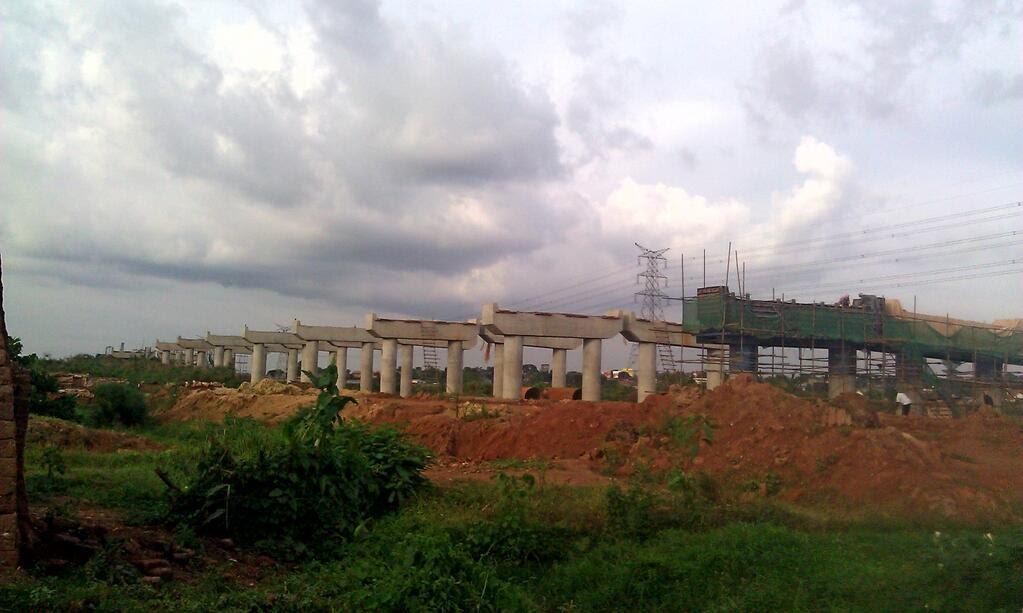 Stalled construction of Kampala Express Highway