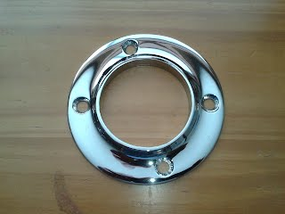 How A Solenoid Works >> Exhaust pipe transom trim ring $85 - McCall Boat Works VINTAGE BOAT PARTS FOR SALE