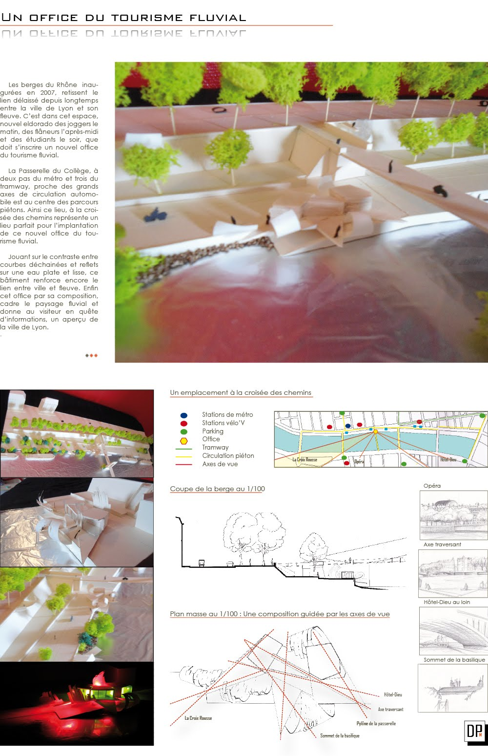 Office du tourisme fluvial denis petit m architecture work - Orcieres merlette office du tourisme ...
