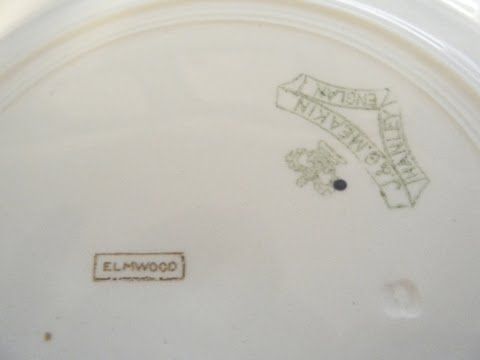 Elmwood - Site 1 J G Meakin China & Pottery Pattern Library